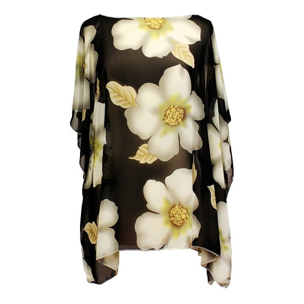 Magnolia Pullover Summer Poncho Cover Up
