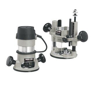 """Porter Cable 693LRPK 1-3/4 HP Multi-Base Router Kit with 11 Amp Motor for 1/4"""" a"""
