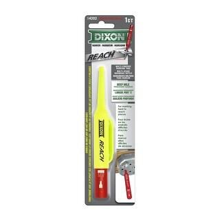 Dixon 14202 Reach Deep Permanent Marker, Red