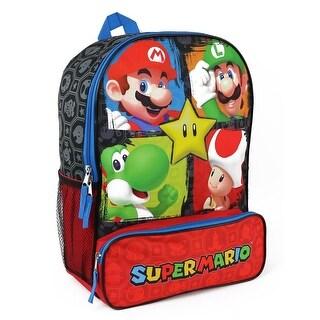 Nintendo Boys Super Mario Backpack