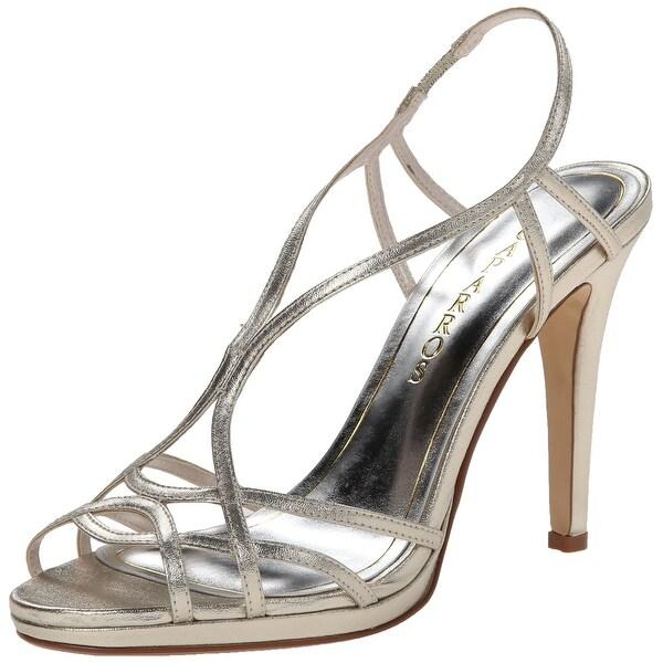 Caparros NEW Gold Women's Shoes Size 9.5M Sunday Metallic Sandal