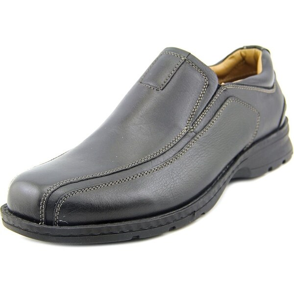 Dockers Agent Men W Bicycle Toe Leather Black Loafer