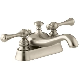 Kohler K-16100-4A Revival Centerset Bathroom Faucet - Free Metal Pop-Up Drain Assembly with purchase