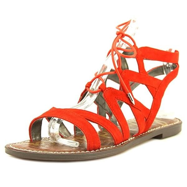 3d0507905f6b Shop Sam Edelman Gemma Blood Orange Sandals - Free Shipping On ...