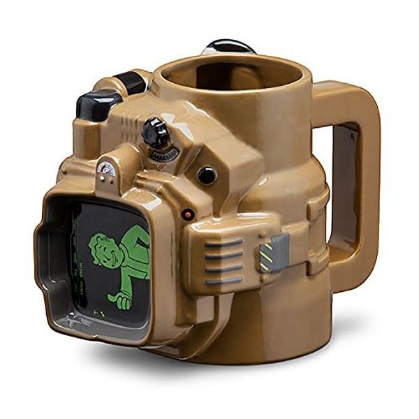 Fallout Pip Boy 48oz Ceramic Molded Mug - Multi