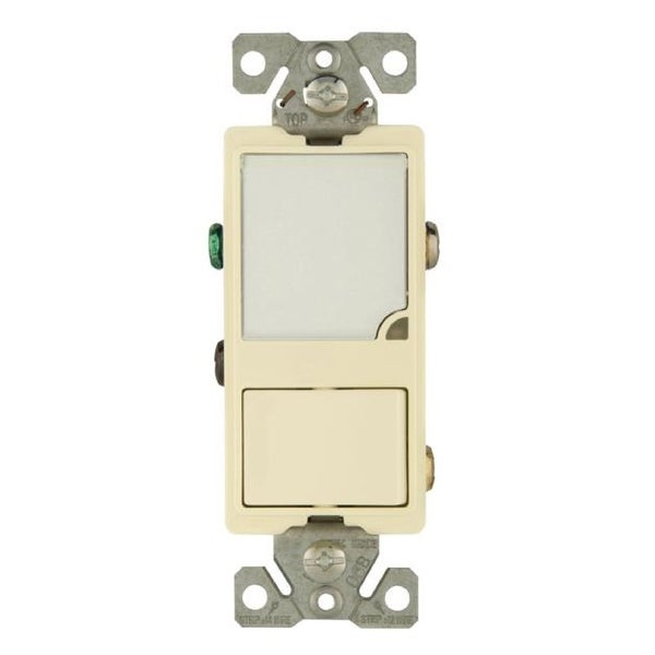 Cooper Wiring 7738LA BOX Single Pole Combination Switch and Dimmable LED Nightlight%2C 15 Amp led nightlight and switch wiring wiring diagrams