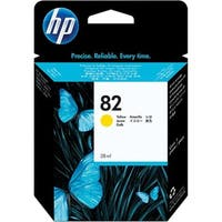 Hp CH568A 82 Yellow Ink Cartridge