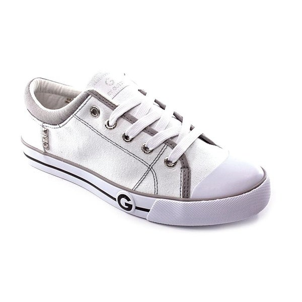 G by Guess Womens oona Canvas Low Top Lace Up Fashion Sneakers