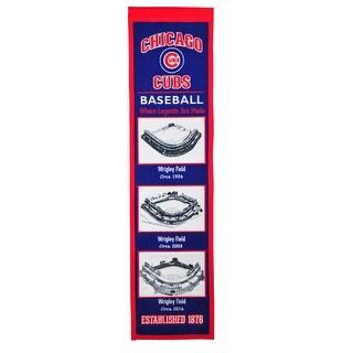 Chicago Cubs Stadium Transformation Banner