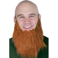 """Pack of 12 Brown Beard Halloween Party Costume Accessories 12.8"""""""