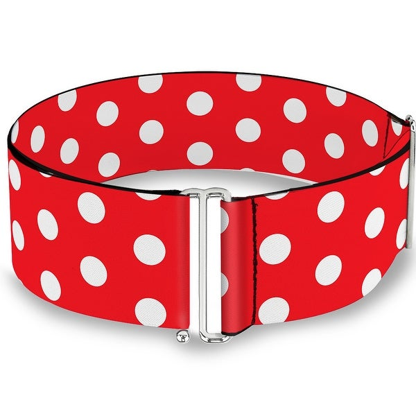 Minnie Mouse Polka Dots Red White Cinch Waist Belt ONE SIZE