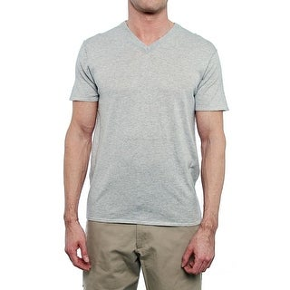 Quinn Short Sleeve V-Neck Shirt Men Regular Basic T-Shirt