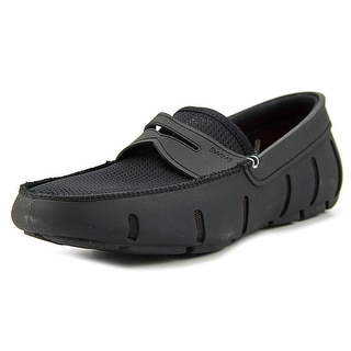 Swims Penny Loafer Men  Round Toe Synthetic Black Loafer