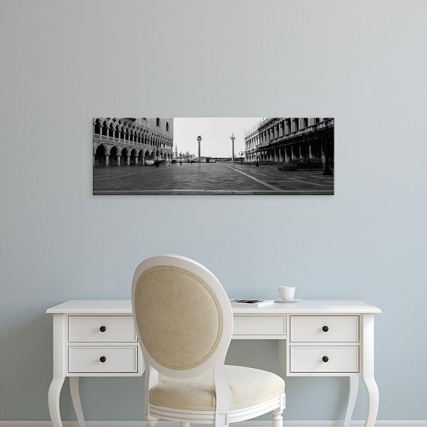Easy Art Prints Panoramic Images's 'Buildings In A City, Saint Mark's Square, Venice, Italy' Premium Canvas Art