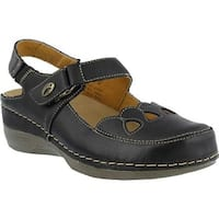 Spring Step Women's Hope Black Leather
