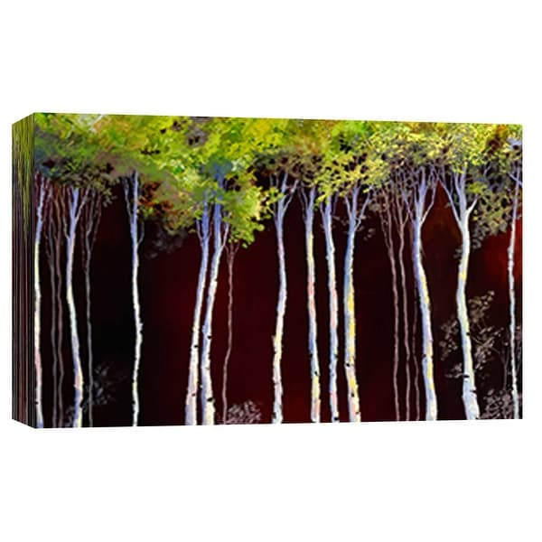 """PTM Images 9-101813 PTM Canvas Collection 8"""" x 10"""" - """"Birches 4"""" Giclee Forests Art Print on Canvas"""