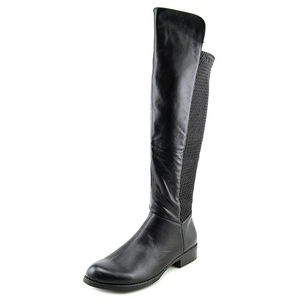 XOXO Womens FIONA Closed Toe Knee High Fashion Boots