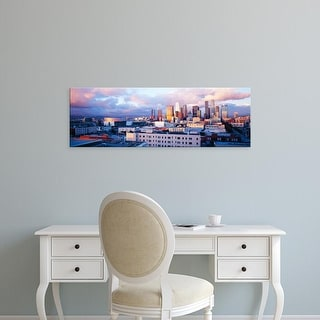 Easy Art Prints Panoramic Images's 'Los Angeles, California, USA' Premium Canvas Art