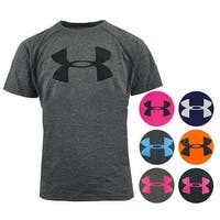 Under Armour Boys' UA Tech Big Logo S/S T-Shirt