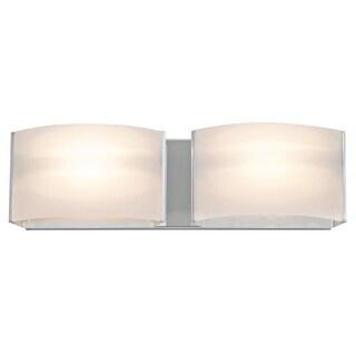 DVI Lighting DVP1722 Vanguard 2 Light Halogen Bathroom Vanity Fixture (2 options available)