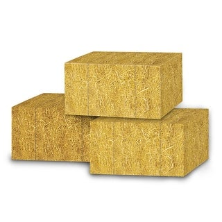 """Club Pack of 36 Decorative Golden Country Straw Bale Favor Boxes 5"""""""