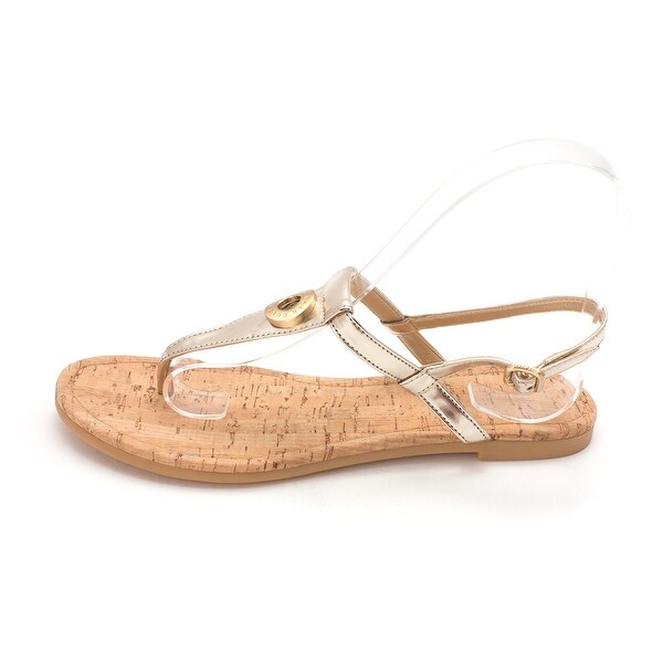 Cole Haan Womens Analiasam Open Toe Casual T-Strap Sandals - 6