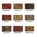 "Swan Comfort Home Fashion Printed Doormat Scrape Dirt & Grass Textured Grip Bottom 18"" x 31"" - Thumbnail 1"
