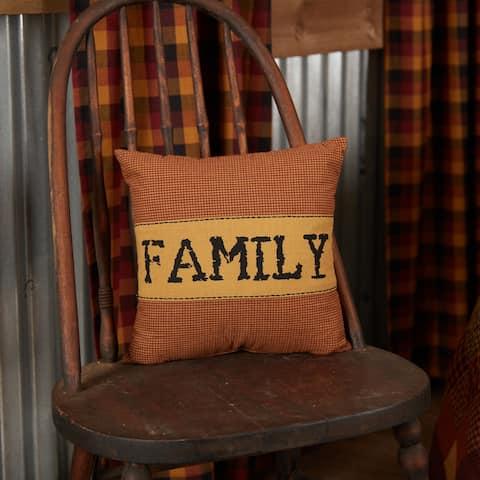 Heritage Farms Family Pillow 12x12