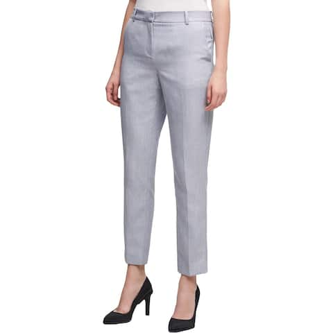 DKNY Womens Dress Pants Skinny Crop