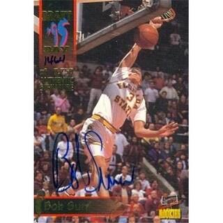 Bob Sura autographed Basketball Card (Florida State) 1995 Signature