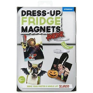 Halloween Dress-up Fridge Magnets, More Pop Culture by Spinning Hat