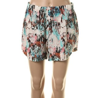 French Connection Womens Crepe Printed Casual Shorts
