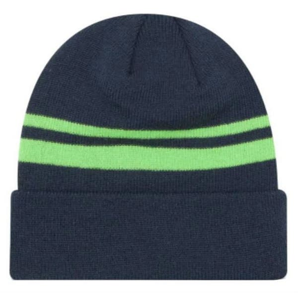 online store 0ff16 79e2d New Era 2019 NFL Seattle Seahawks Cuff Knit Hat Beanie Stocking Winter  Skull Cap