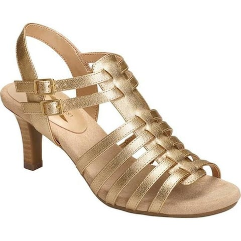 0c18800afff9 A2 by Aerosoles Women s Pass Through Strappy Sandal Gold Metallic Faux  Leather
