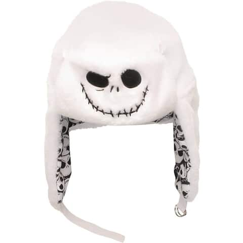 Disney's Nightmare Before Christmas Jack Reversible Flip Trapper Hat Beanie