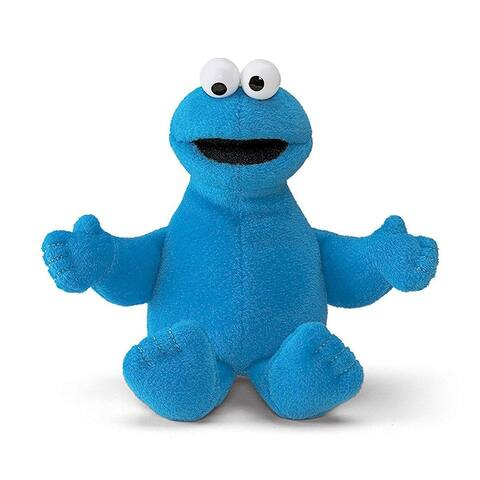 Sesame Street Cookie Monster 6-Inch Plush Beanbag Character - Multi