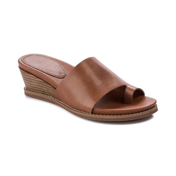 Lucca Lane Wynona Women's Sandals & Flip Flops Brush Brown