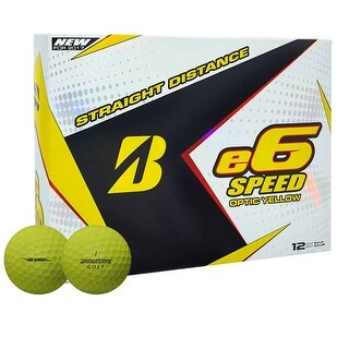 Bridgestone 2017 E6 Speed Golf Balls - Dozen Yellow