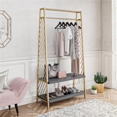 CosmoLiving by Cosmopolitan Brielle Entryway Storage Bench