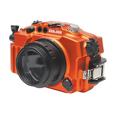 Sea and Sea Sony MDX-a6300 and a6000 Limited Edition Orange Housing