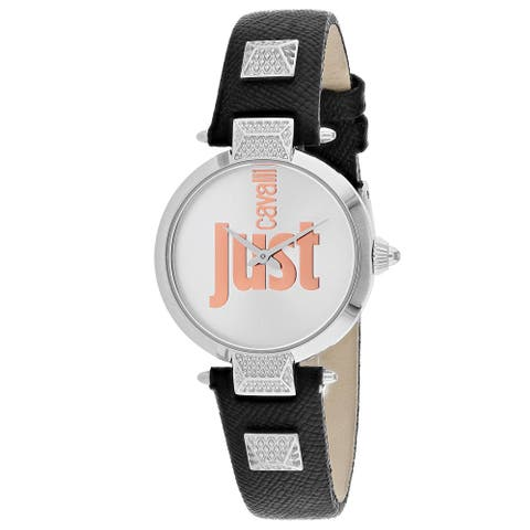 Just Cavalli Women's Just Mio Silver Dial Watch - JC1L076L0015 - One Size