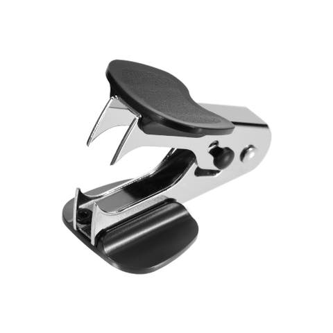 Staple Remover Puller Removal Tool for 24/6 26/6 Staple Black