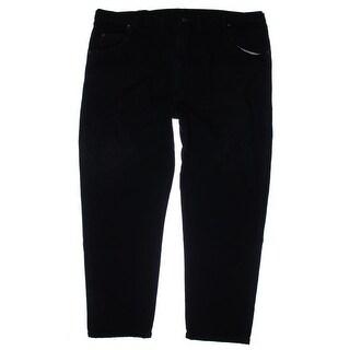 Wrangler Mens Straight Leg Jeans Denim Relaxed Fit