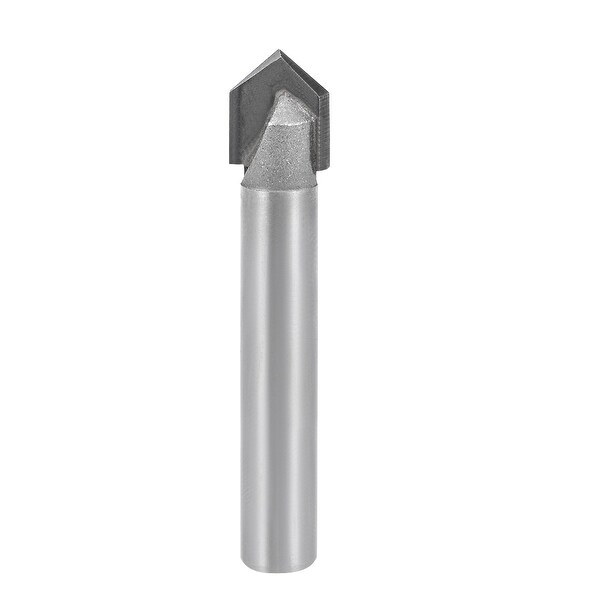 """Router Bit 1/4 Shank 5/16¡° Dia 90 Degree V Type End Mill Carbide Edge Trimmer - 1/4X5/16"""""""