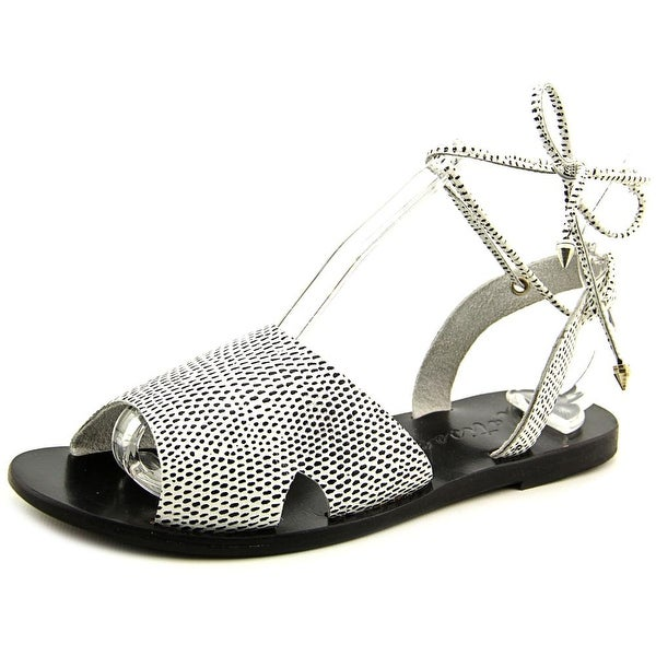 Matisse Townie Women Open Toe Leather Black Gladiator Sandal
