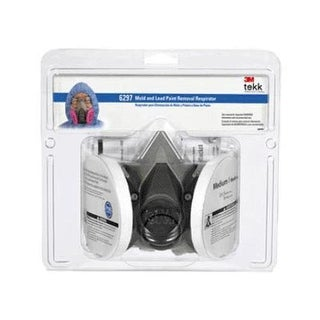 3M 6297PA1-A Mold & Lead Particle Respirator, Medium