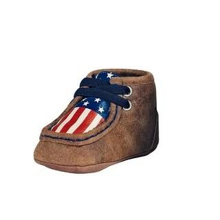 Double Barrel Western Shoes Boys Lincoln Baby Buckers Chukka