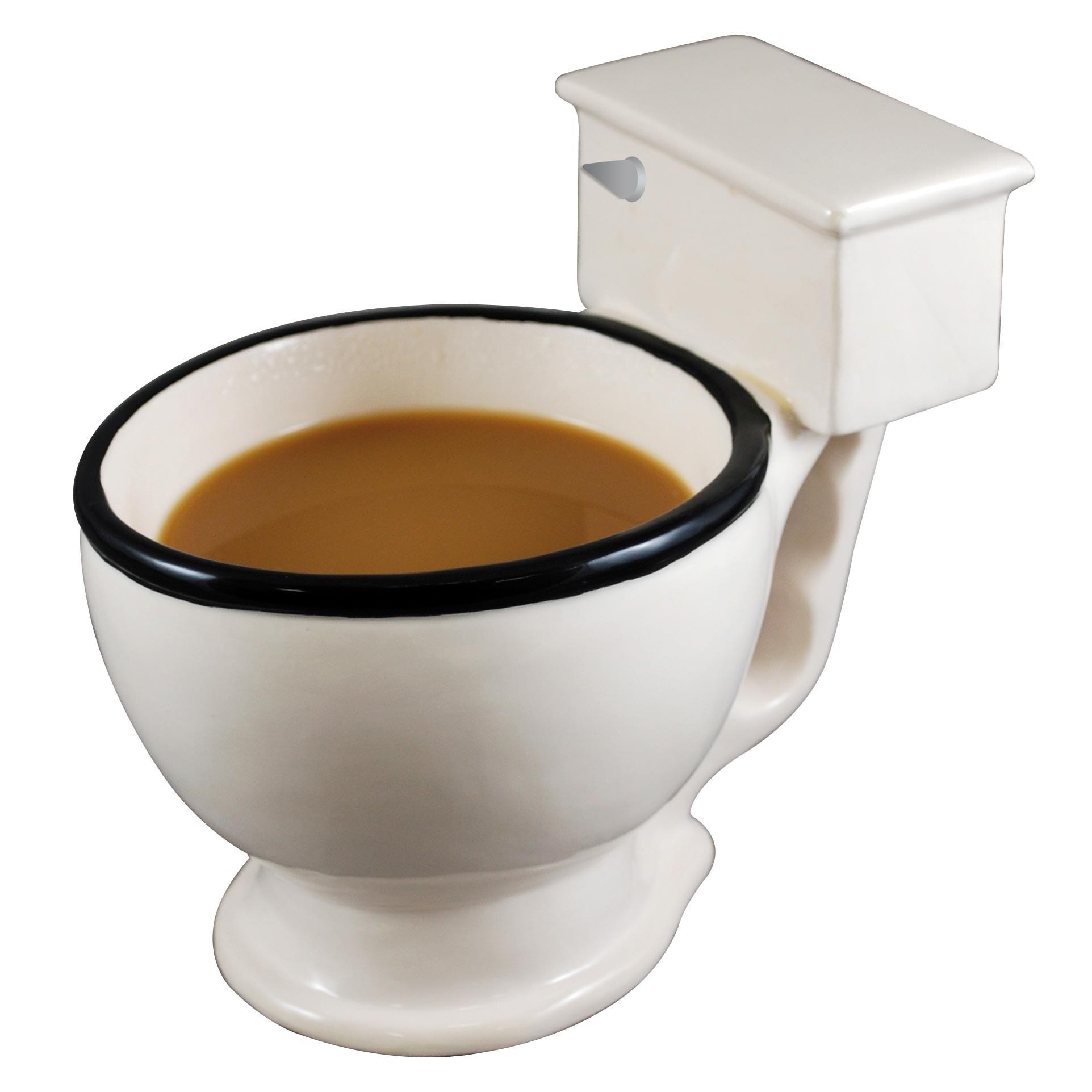 No Flush Toilet Mug - Thumbnail 0