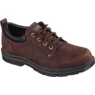 Skechers Men's Relaxed Fit Segment Rilar Brown