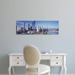 Easy Art Prints Panoramic Images's 'Melbourne Australia' Premium Canvas Art